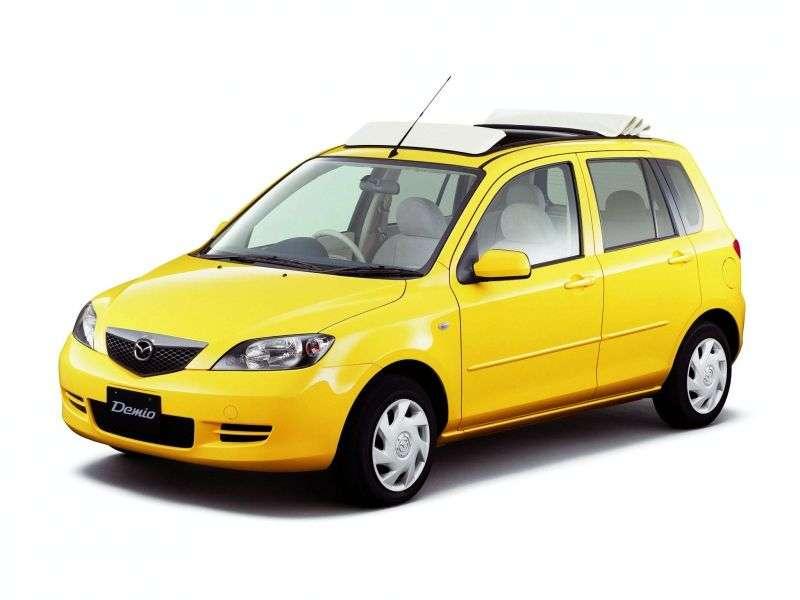 Mazda Demio 2nd generation hatchback 1.5 MT (2002–2007)