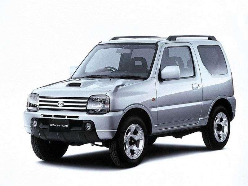 Mazda Az offroad 1st generation [restyling] 0.7 MT crossover (1998–2004)