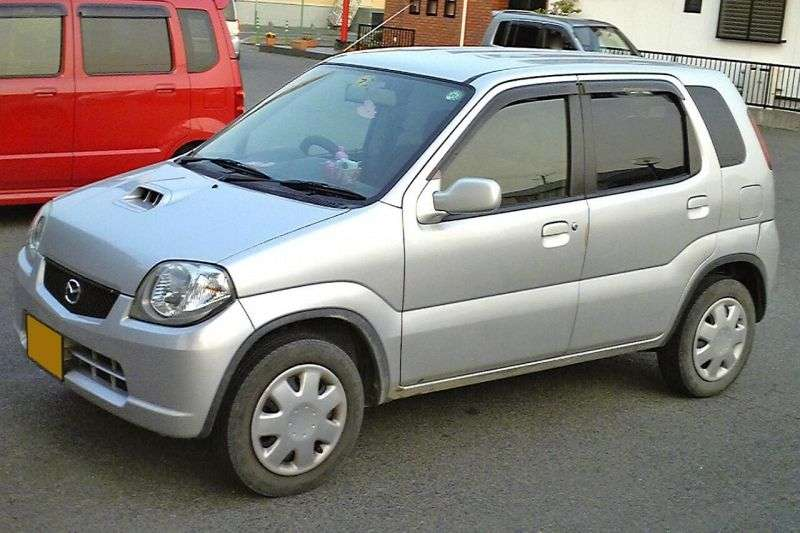 Mazda Laputa 1st generation hatchback 5 dv. 0.7 Turbo MT (1999–2006)