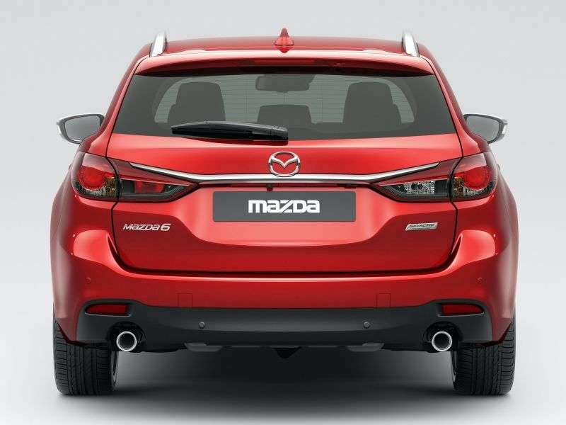 Mazda 6 3rd generation wagon 2.5 SKYACTIV G AT (2012 – current century)
