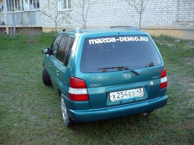 Mazda Demio 1st generation hatchback 1.5 MT (2000–2002)