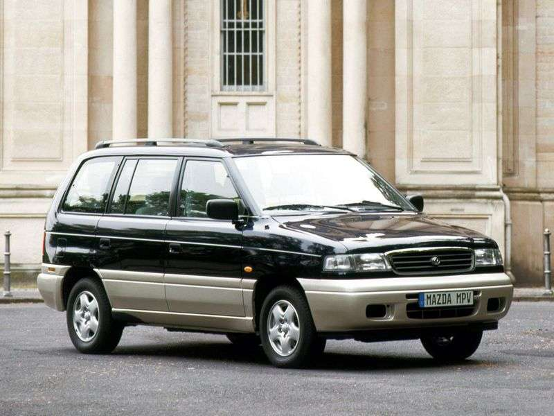 Mazda MPV 1st generation minivan 2.5 TD MT (1996–1999)