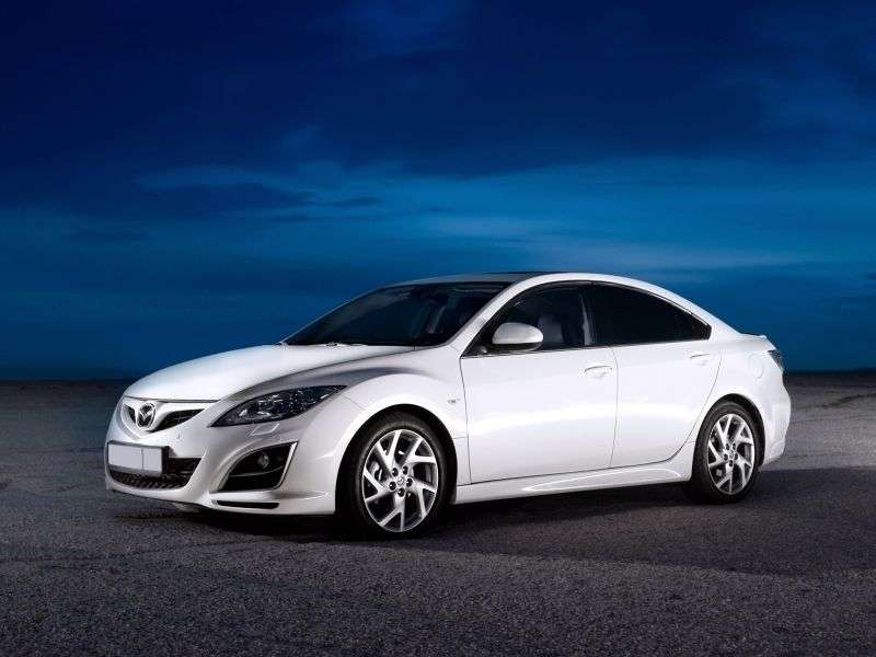Mazda 6 2nd generation [restyling] sedan 2.2 MZR CD MT (2010–2013)