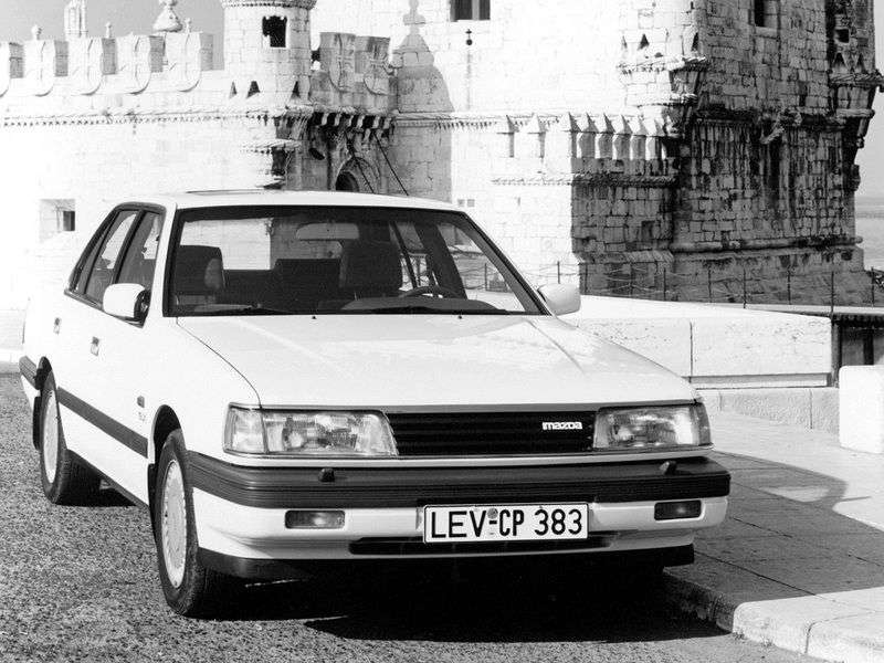 Mazda 929 4 generation sedan 3.0 MT (1990–1991)