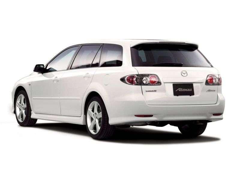 Mazda Atenza 1st generation wagon 2.0 D MT (2002–2005)
