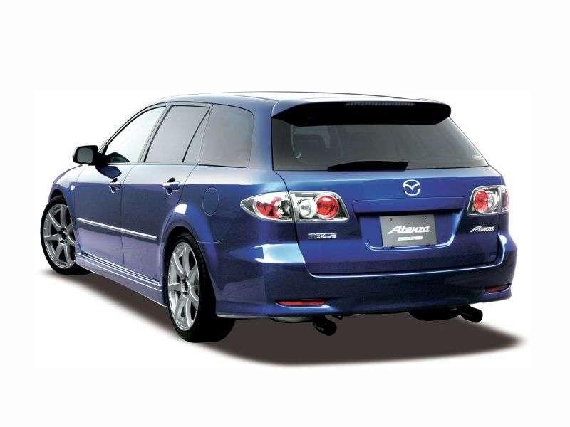 Mazda Atenza 1.generacja Estate 1.8 MT (2002 2007)