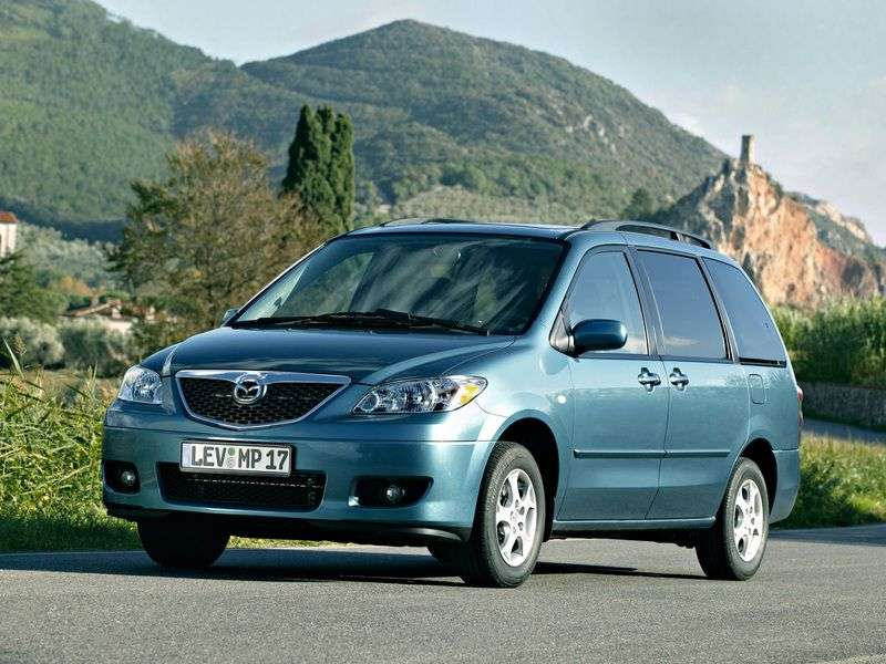 Mazda MPV 2nd generation [restyled] minivan 3.0 AT (2004–2006)
