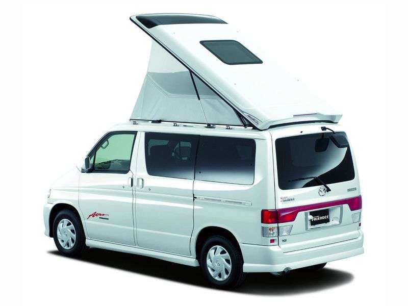 Mazda Bongo Friendee 1st generation minivan 2.5 AT D (1995–1999)