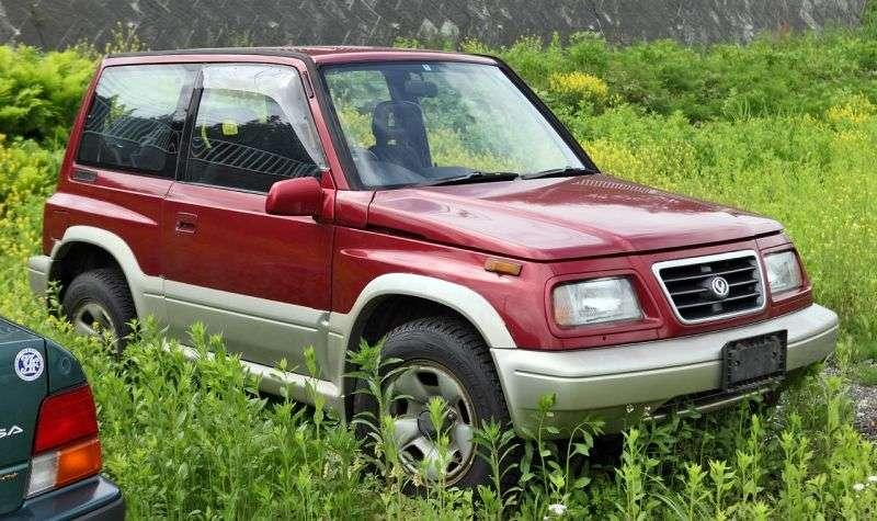 Mazda Levante 1st generation SUV 3 dv. 2.0 TD AT 4WD (1996 – n. In.)
