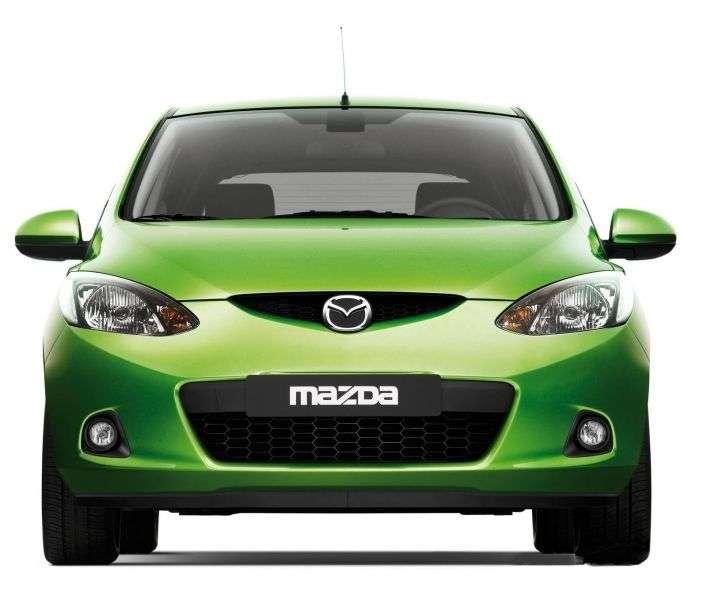 Mazda Demio 3rd generation hatchback 1.5 AT (2007 – n.)