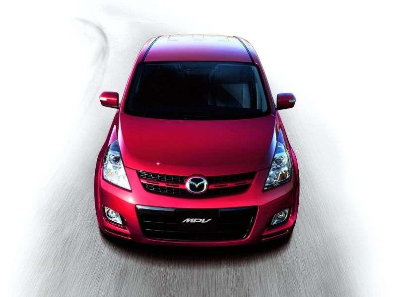 Mazda MPV 3 generation minivan 2.3 AT (2006–2007)