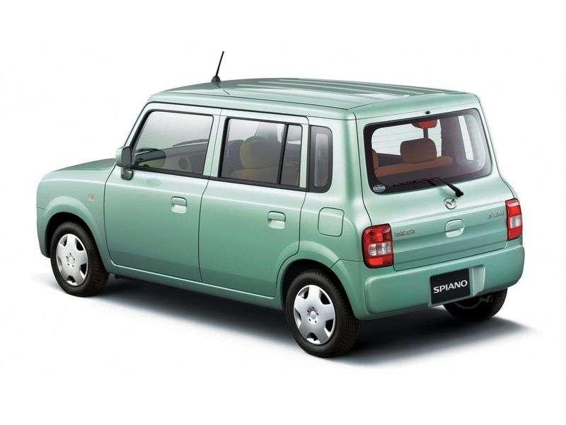 Mazda Spiano 1st generation hatchback 0.7 AT 2WD (2002 – n.)