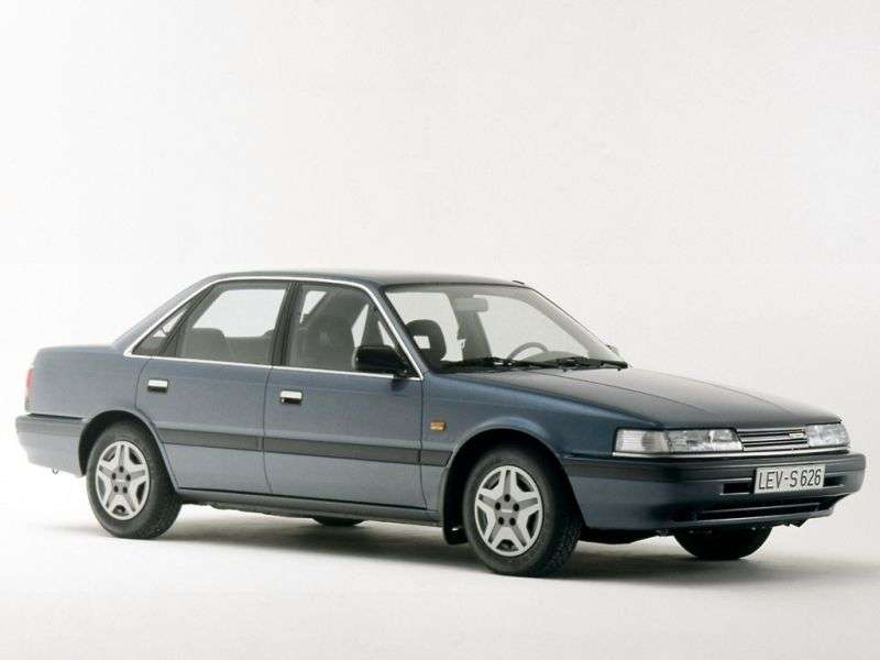 Mazda Capella 4 generation sedan 2.0 D MT (1989–1994)