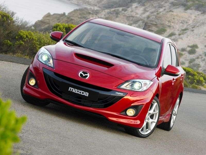 Mazda 3 BLMPS hatchback 5 dv. 2.3 T MT MPS (2009 – present)