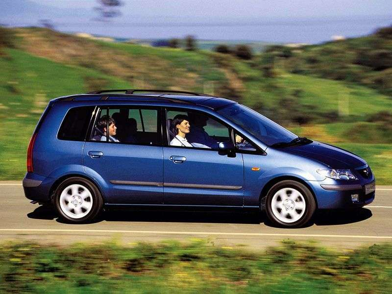 Mazda Premacy 1st generation minivan 2.0 AT (2001–2005)