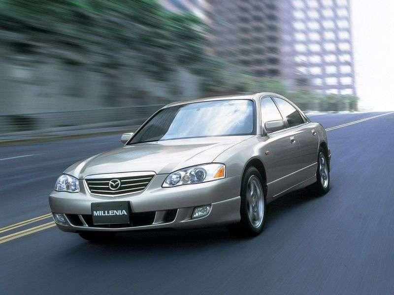 Mazda Millenia 1st generation [restyled] sedan 2.0 AT (2000–2003)