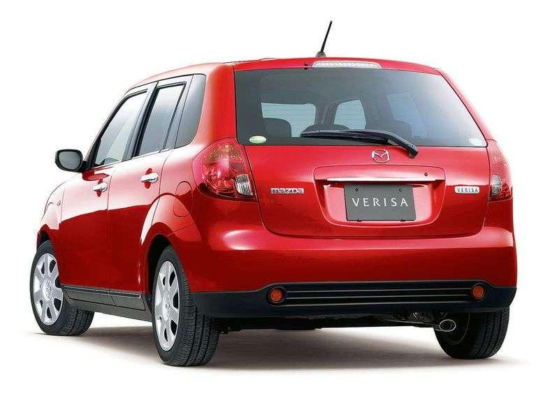 Mazda Verisa 1st generation hatchback 1.5 AT (2004 – n.)