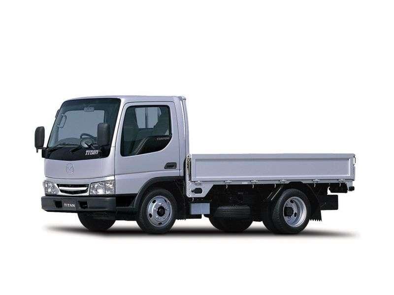 Mazda Titan 4th generation chassis 4.3 TD MT L1 3000 DRW (2000–2004)