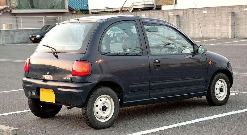 Mazda Carol Autozam Mkhetchbek 0.7 AT Turbo (1989–1998)