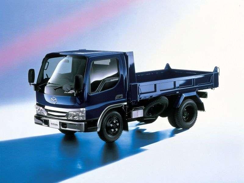 Mazda Titan 4th generation chassis 4.0 TD MT L1 (2000–2004)