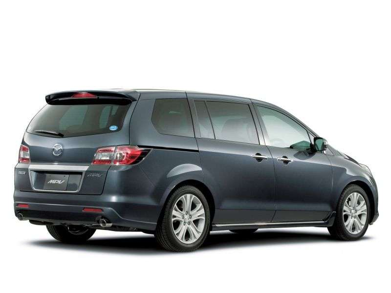 Mazda MPV 3 generation [restyled] minivan 2.3 AT (2008 – n.)