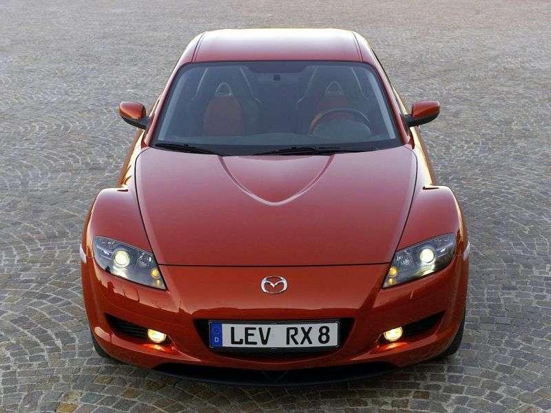 Mazda RX 8 1st generation coupe 4 bit. 1.3 MT (2003–2008)
