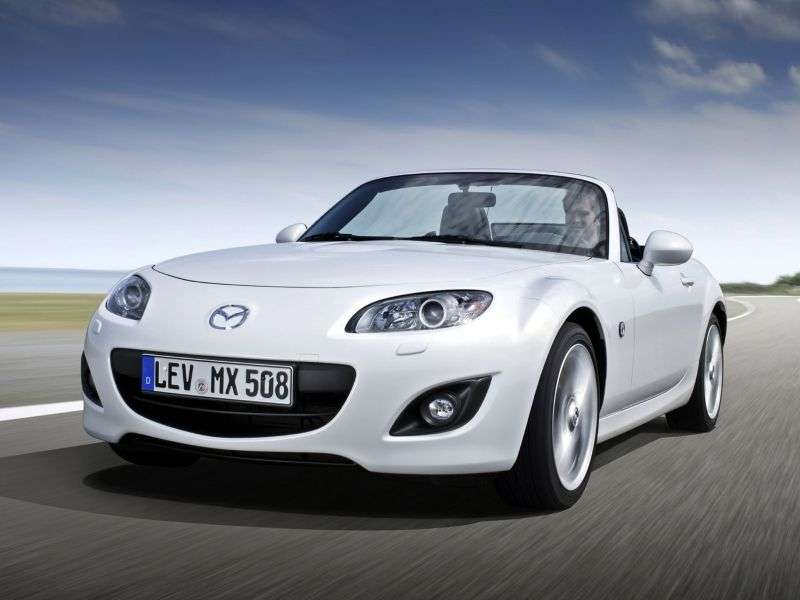 Mazda MX 5 NC [restyling] roadster 2 dv. 2.0 AT Comfort 2 (2011) (2008 – present)