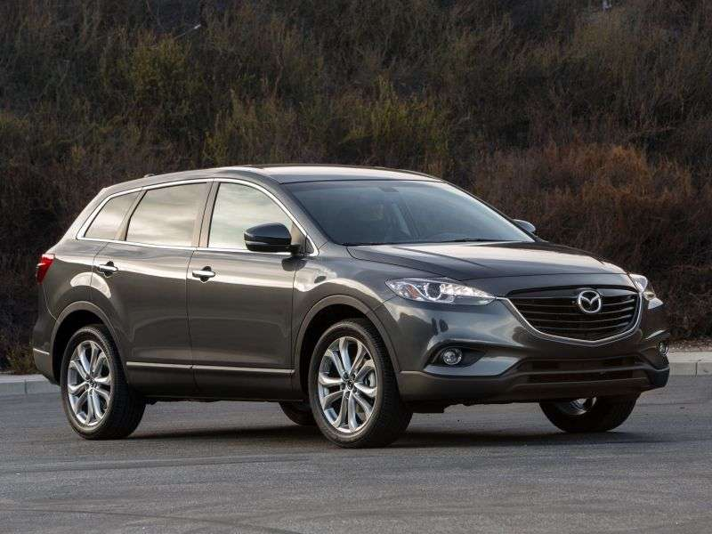 Mazda CX 9 1st generation [2nd restyling] crossover 3.7 AT Sport (2012 – n.)