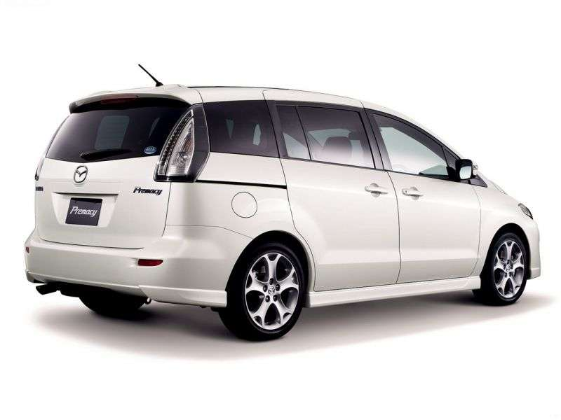 Mazda Premacy 2nd generation minivan 2.3 AT (2005–2010)