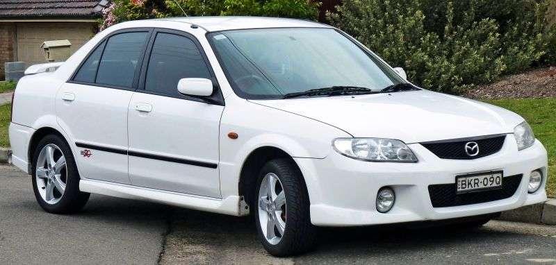Mazda Familia 8 generation sedan 1.5 MT (2000–2004)