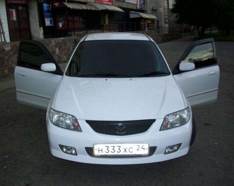 Mazda Familia 8th generation wagon 1.5 MT (2002–2004)