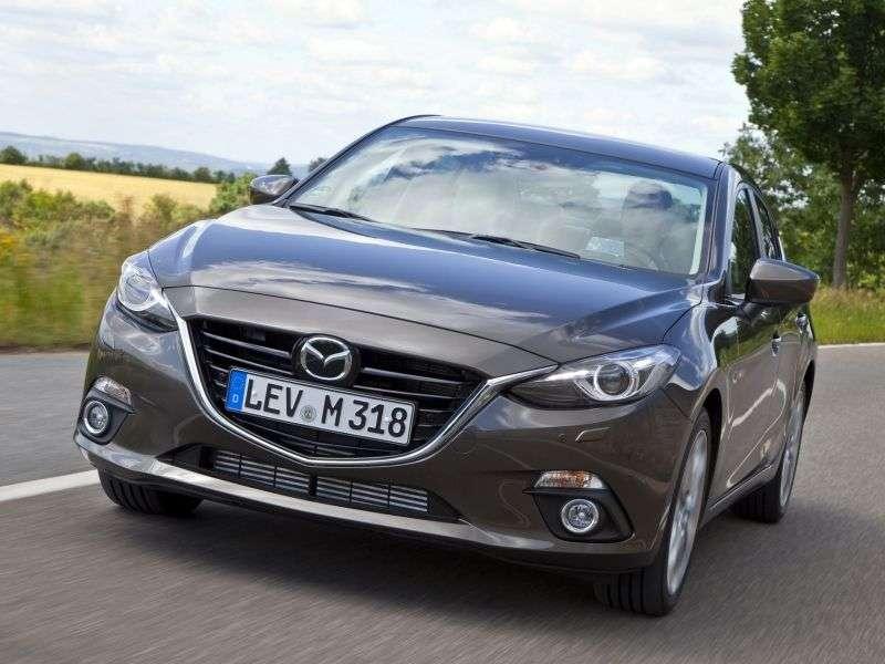 Mazda 3 BM Xedan 2.0 SKYACTIV G MT (2013 – current century)
