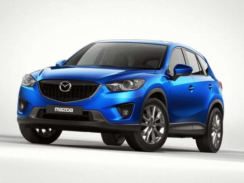 Mazda CX 5 1st generation 2.2 D AT AT 4WD Supreme crossover (2013 – v.)