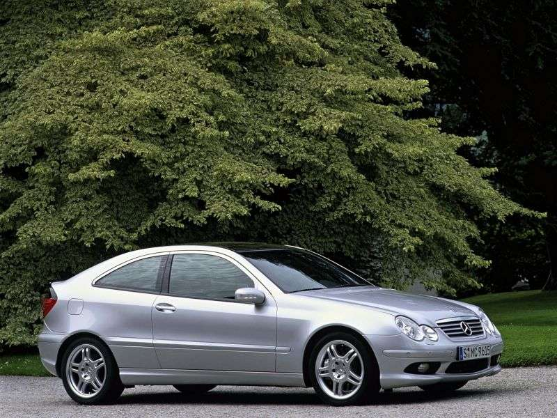 Mercedes Benz C Class W203 / S203 / CL203AMG Coupe 3 dv. C 32 AMG AT (2002–2004)