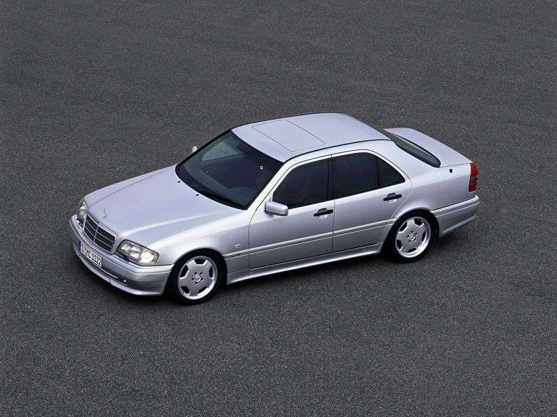 Mercedes Benz C Class W202 / S202AMG C 36 AMG AT Sedan (1993–1997)