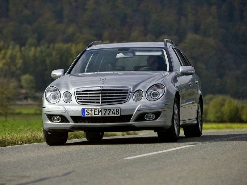 Mercedes Benz E Class W211 / S211 [restyling] wagon 5 bit. E 280 4MATIC AT (2006–2009)