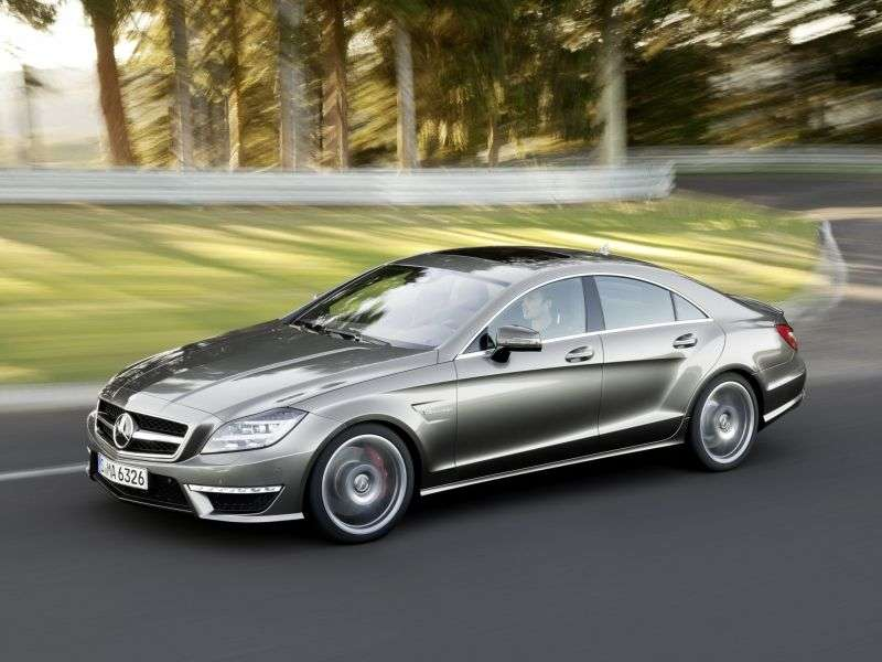Mercedes Benz CLS Class C218 / X218AMG Coupe 4 bit. CLS 63 AMG Speedshift MCT (2013 – current century)
