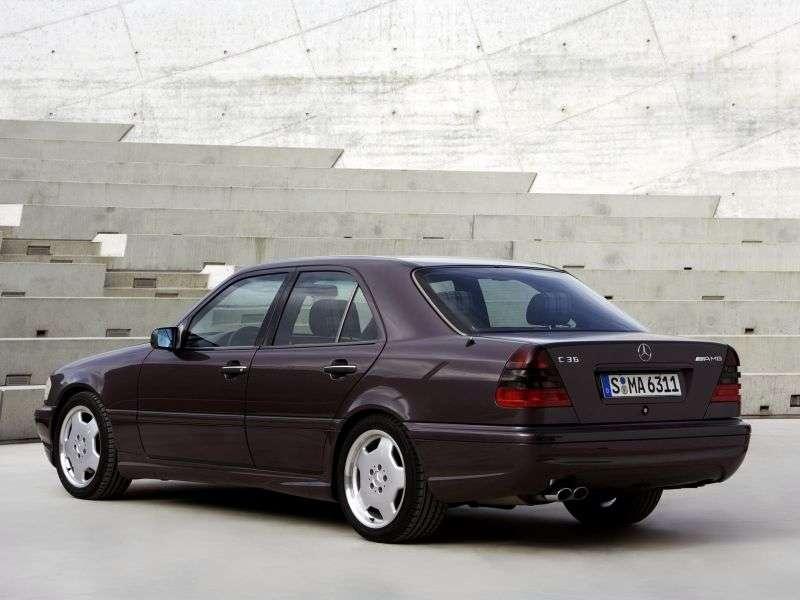 Mercedes Benz C Class W202 / S202AMG C 43 AMG AT Sedan (1997–2000)