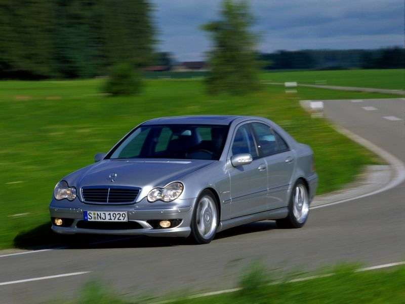 Mercedes Benz C Class W203 / S203 / CL203AMG 4 door sedan. C 30 CDI AMG SPEEDSHIFT (2002–2004)