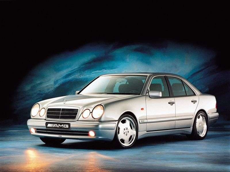 Mercedes Benz E Class W210 / S210AMG Sedan E 55 AT AMG 4MATIC (1999–2002)