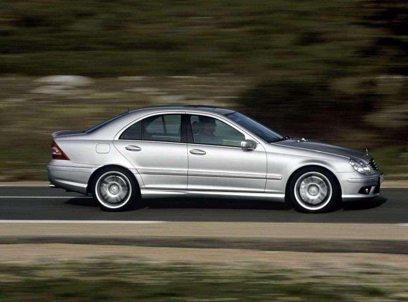 Mercedes Benz C Class W203 / S203 / CL203 [restyling] AMG 4 door sedan. C 55 AMG SPEEDSHIFT (2004–2006)