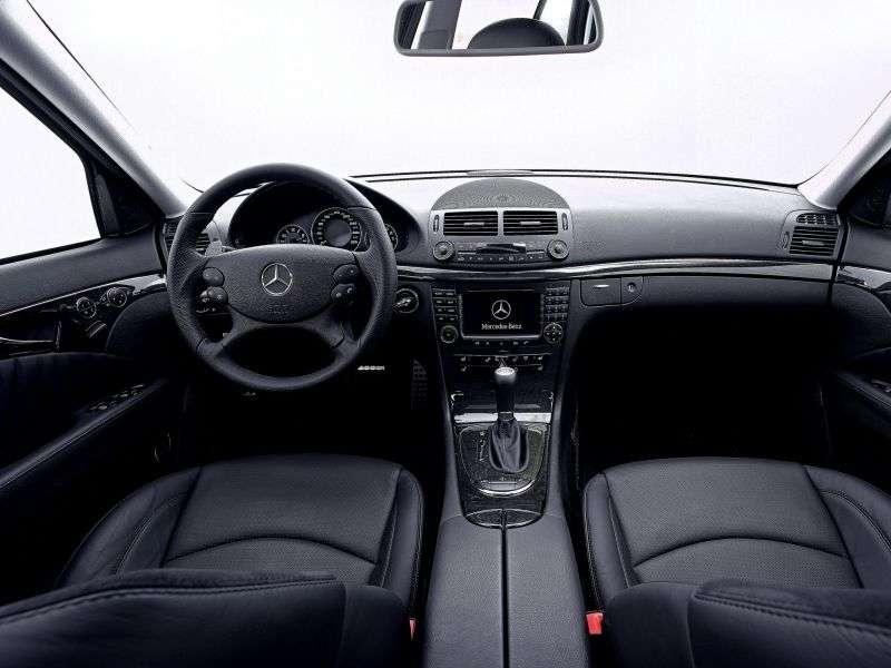 Mercedes Benz E Class W211 / S211 [restyling] AMG 4 door sedan. E 63 AT AMG (2006–2009)