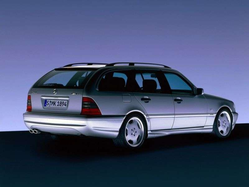 Mercedes Benz C Class W202 / S202AMG station wagon C 43 AMG AT (1997–2000)