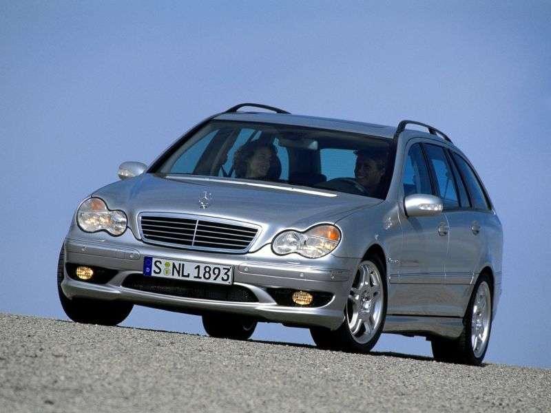 Mercedes Benz C Class W203 / S203 / CL203AMG wagon 5 bit. C 30 CDI AMG AT (2003–2004)