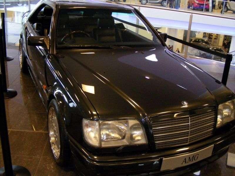 Mercedes Benz E Class W124AMG Coupe E 36 AT AMG (1993–1996)