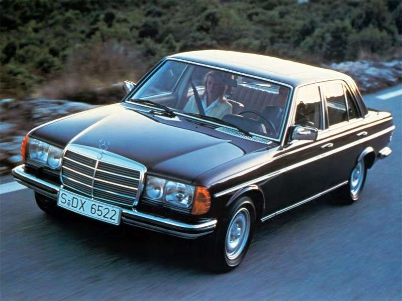Mercedes Benz E Class w123sedan 200 D 5MT (1982–1985)