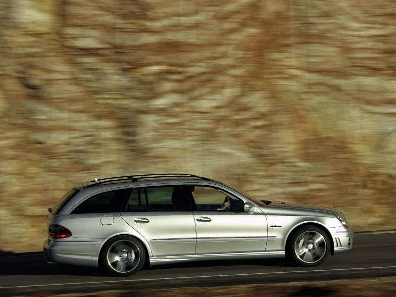 Mercedes Benz E Class W211 / S211 [restyling] AMG wagon 5 bit. E 63 AT AMG (2006–2009)