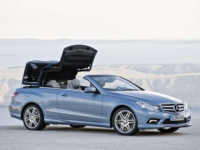 Mercedes Benz E Class W212 / S212 / C207 / A207 cabrio E 300 BlueEfficiency AT Special Series (2011–2013)