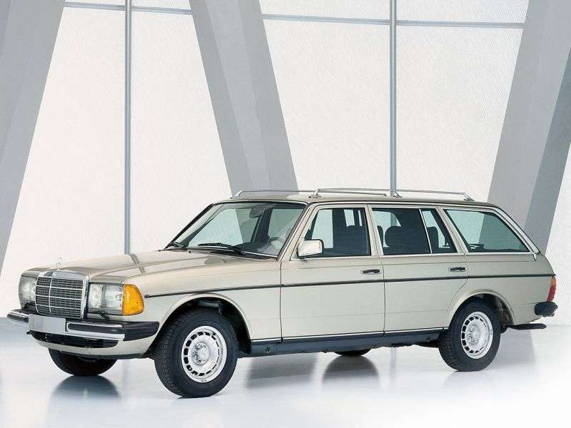 Mercedes Benz E Class w123universal 240 D AT (1978–1986)