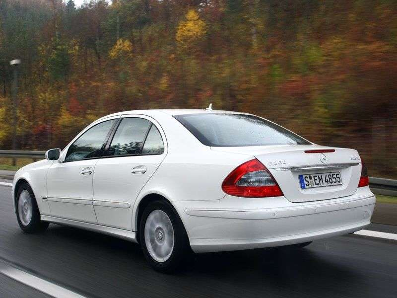 Mercedes Benz E Class W211 / S211 [restyling] 4 door sedan. E 220 CDI AT (2006–2009)